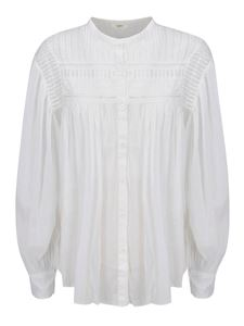 Isabel Marant - Ruches shirt in white