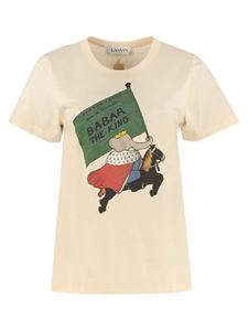 Lanvin - Babar The King T-shirt in cream color