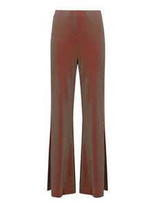 M Missoni - Iridescent metallic trousers