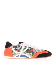 Loewe - Abstract print and L monogram sneakers