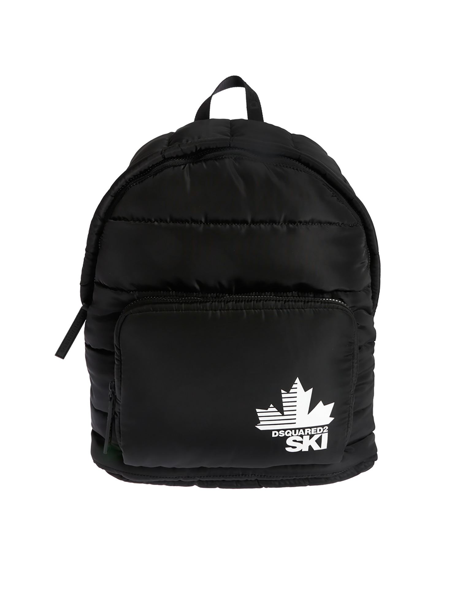 Dsquared2 PADDED BACKPACK IN BLACK
