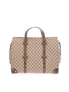 Gucci - Large GG bag in beige