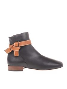 Loewe - Gate 25 ankle boots in black