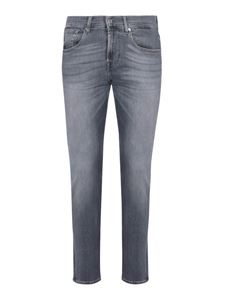 7 For All Mankind - Jeans Skinny Tapered azzurro