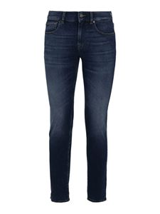 7 For All Mankind - Jeans Skinny Tapered blu