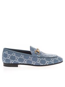 Gucci - Gucci Jordaan loafers in blue