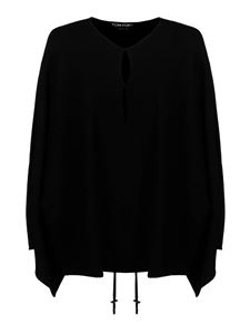 Tom Ford - Cashmere wide sweater in black