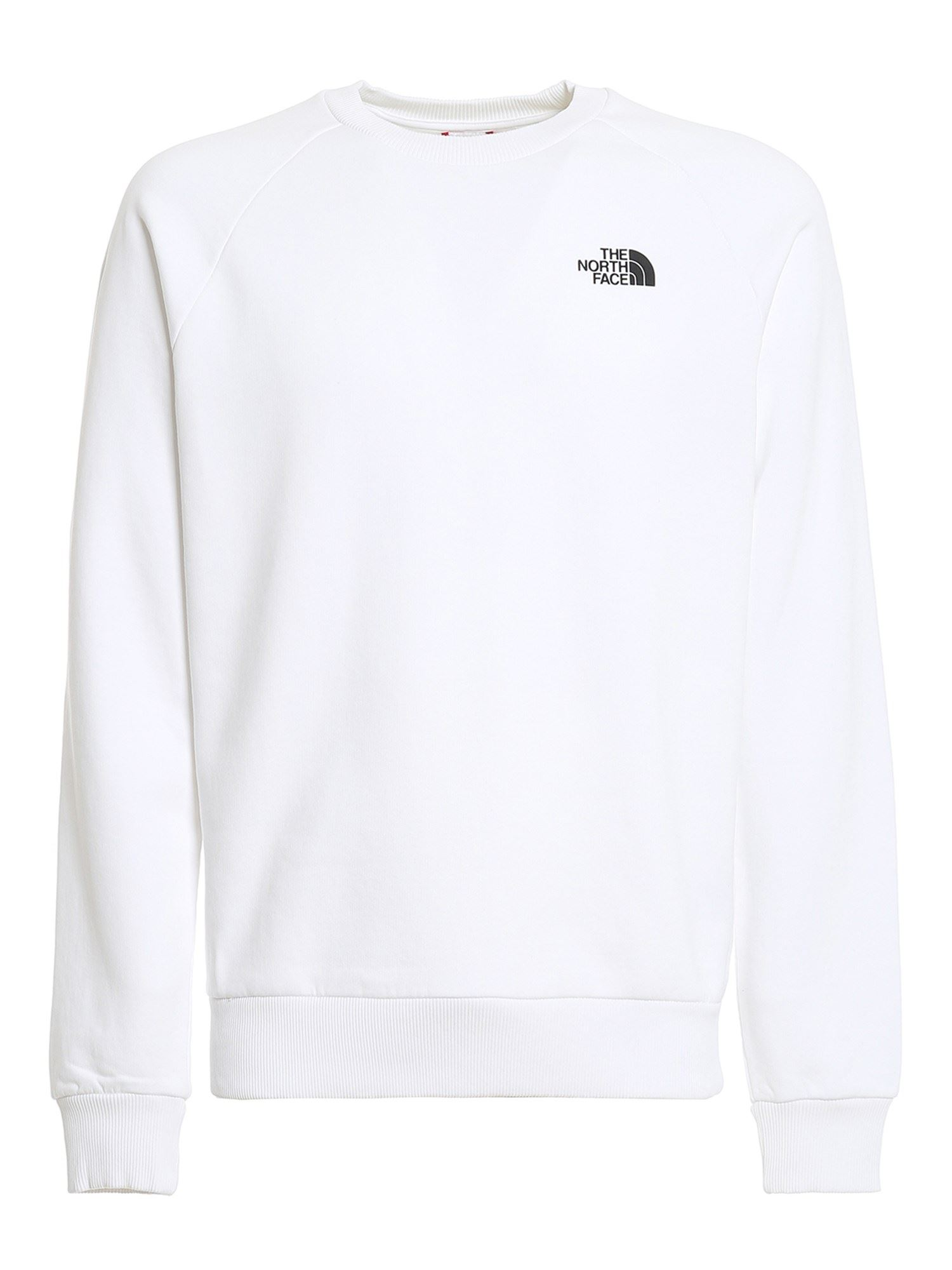 THE NORTH FACE RED BOX COTTON SWEATSHIRT IN WHITE