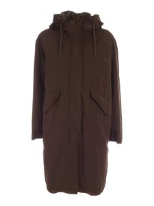 Aspesi - Biscuit thermore parka in brown