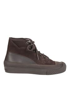 Stone Island - Suede ankle boots in brown