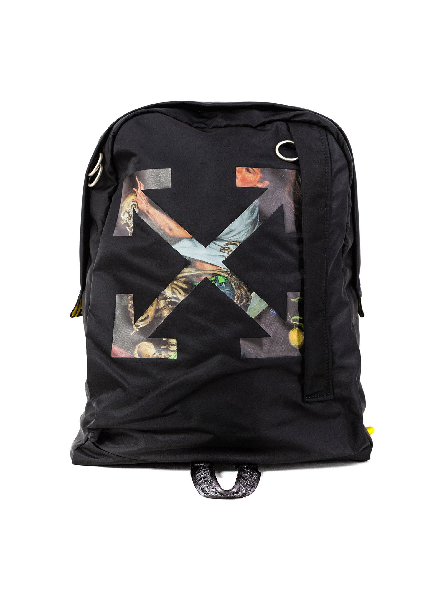 Off-White PASCAL ARROW EASY BACKPACK IN BLACK