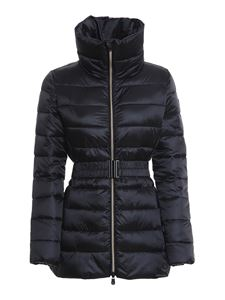 Save the duck - Nylon puffer jacket in black