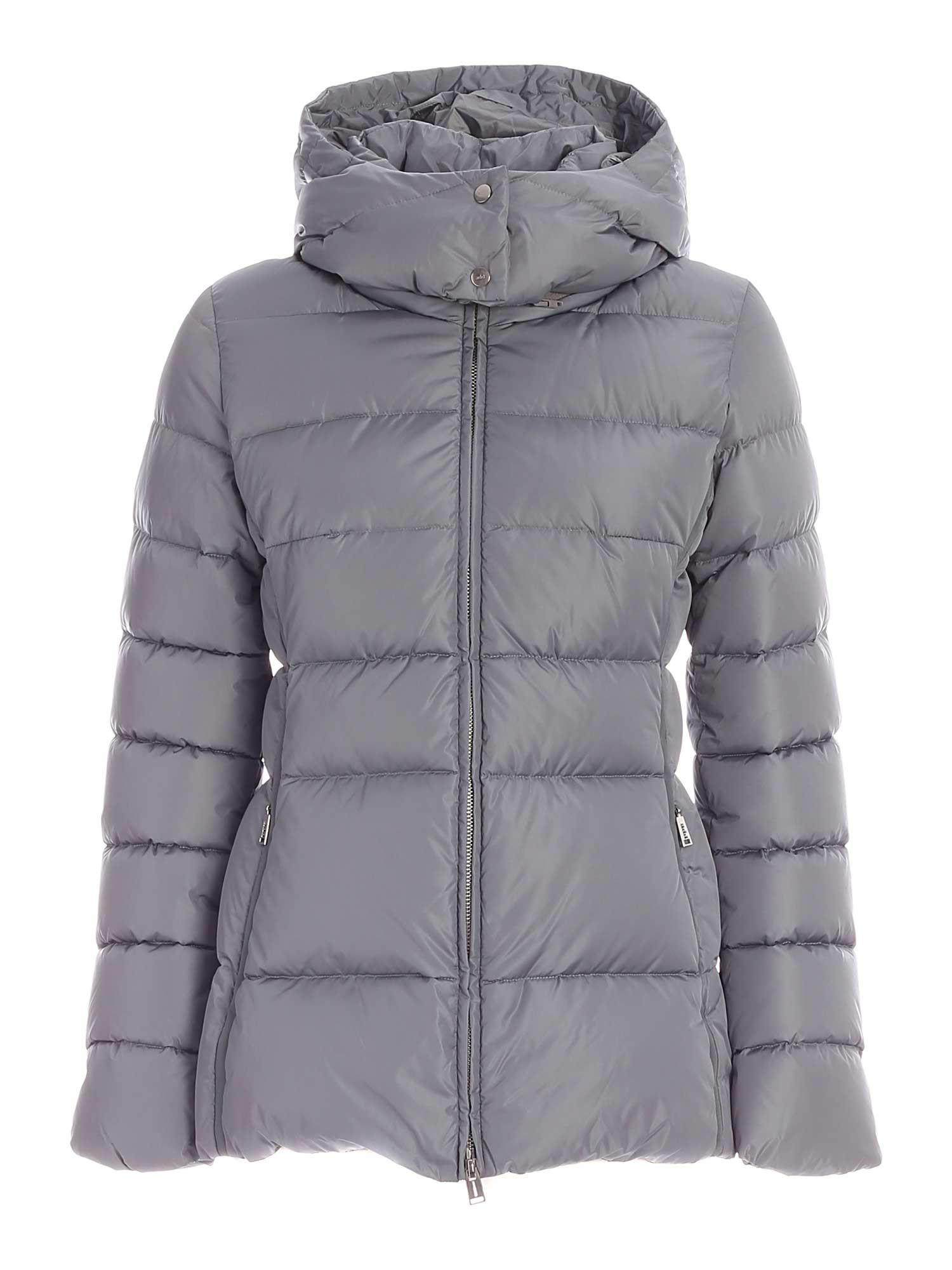 Add ADD LOGO DOWN JACKET IN PEARL GREY