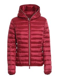 Save the duck - Nylon puffer jacket in red