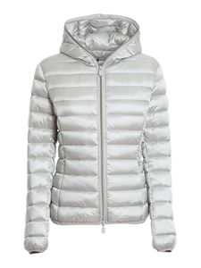 Save the duck - Nylon puffer jacket in grey