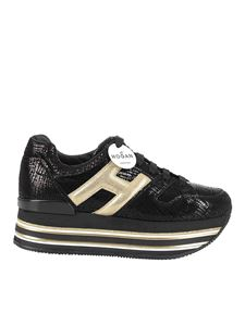 Hogan - Maxi H222 sneakers in black