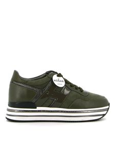 Hogan - H468 Platform sneakers in green