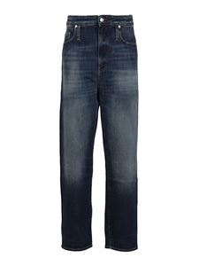Department 5 - Faded straight leg jeans in blue