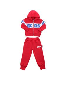 GCDS - Sweatshirt and pants set in red