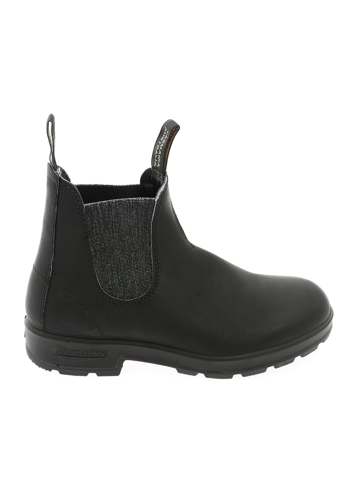 Blundstone ELASTICATED DETAIL ANKLE BOOT IN BLACK