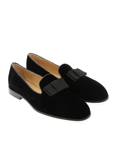 Doucal's - Bow loafers in black