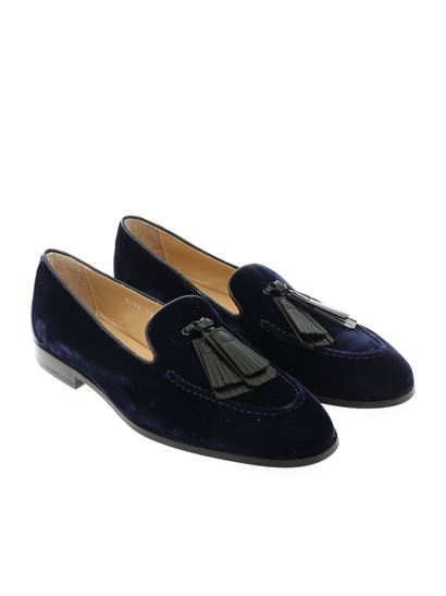 Doucal's - Tassels loafers in blue