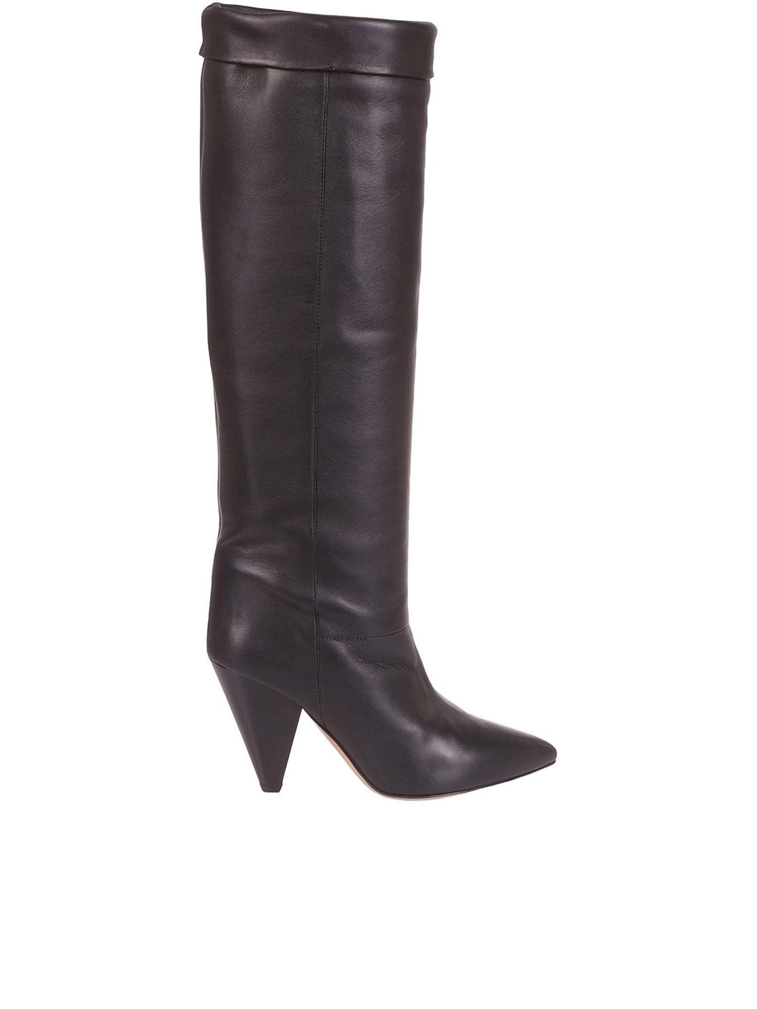 Isabel Marant Leathers ISABEL MARANT LOENS BOOTS IN BLACK