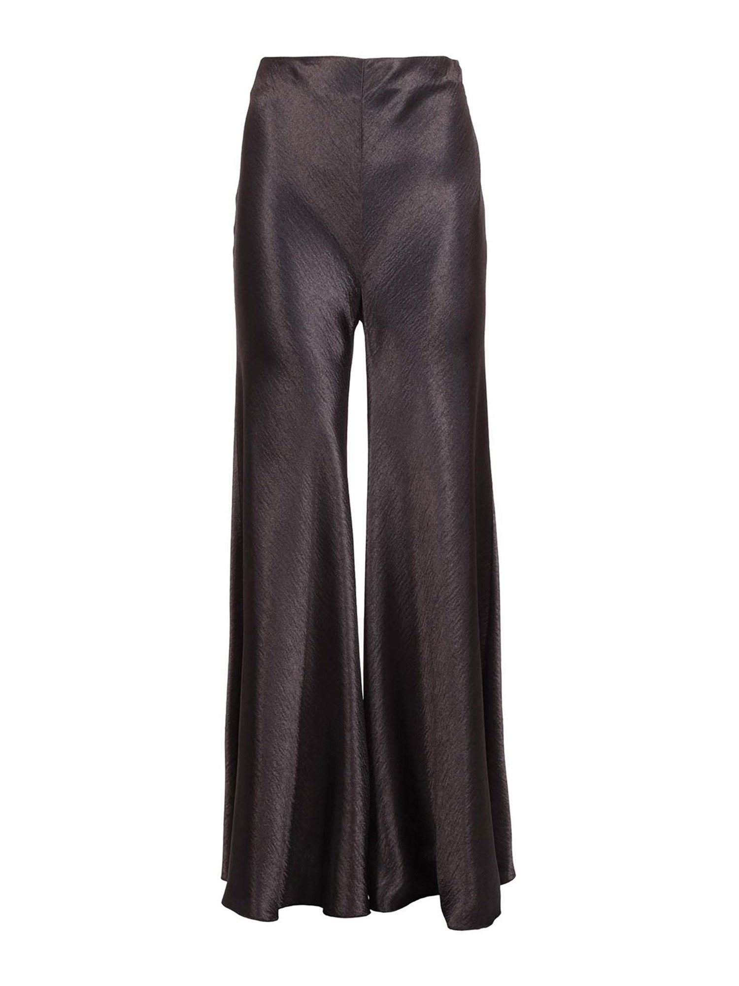 PHILOSOPHY DI LORENZO SERAFINI SHIMMERING EFFECT PANTS IN BLACK