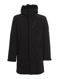 CP Company - C.P. Shell hooded lens parka in black