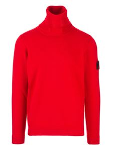 Stone Island - English coast turtleneck in red