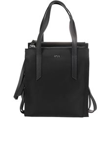 N° 21 - Nylon shopping bag in black