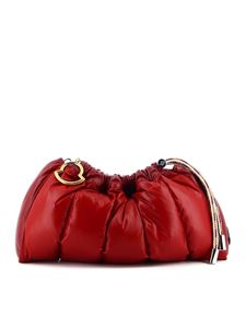 Moncler - Seashell padded bag in red