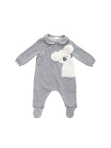 Il Gufo - White koala tracksuit in grey