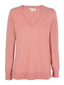 Michael Kors - Pull in cashmere mélange rosa