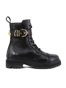 Versace Jeans Couture - Strap ankle boot in black