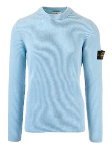 Stone Island - English rib pullover in water color
