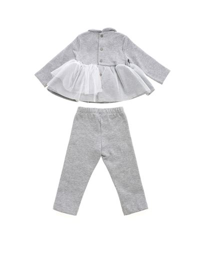 Il Gufo - Tulle suit in grey