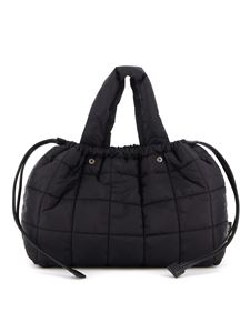 Aspesi - Quilted padded bag in black