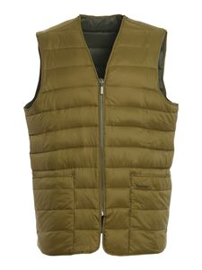 Barbour - Quilted Brigford waistcoat in green
