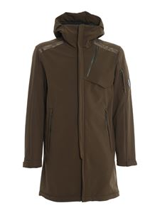 CP Company - C.P. Shell hooded lens parka in grey