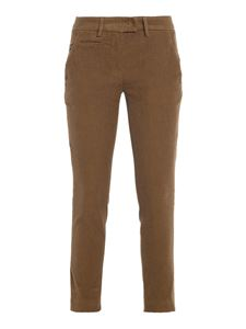 Dondup - Perfect corduroy trousers in brown