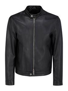 Dsquared2 - Giacca in pelle nera