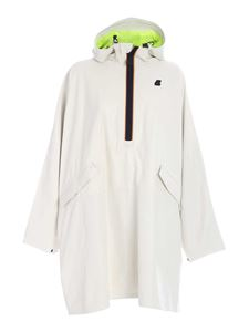 K-way - Lim Kl Air cape in white