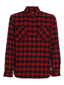Woolrich - Flannel cotton shirt in red
