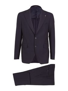 Tagliatore - Vesuvio wool suit in blue