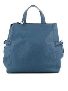 Orciani - Fan Soft large bag in blue