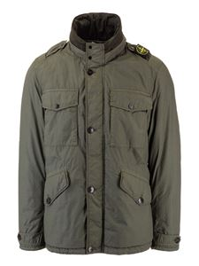 Stone Island - Naslan Light Watro Jacket in moss color