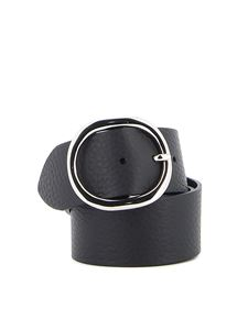 Orciani - Soft leather belt in black