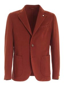 L.B.M. 1911 - Single-breasted jacket in red
