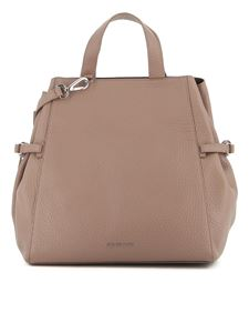 Orciani - Fan Soft large bag in grey